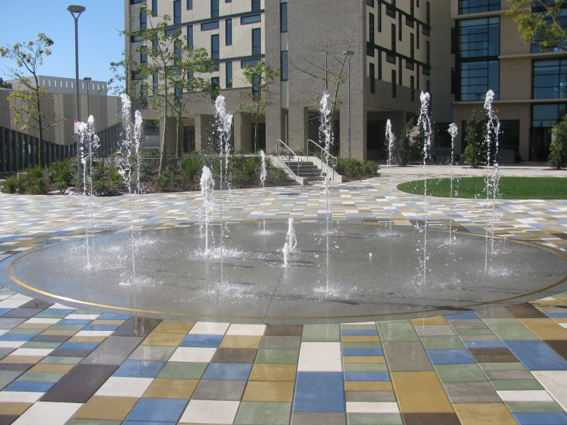 2010 CSU Fullerton Fountain