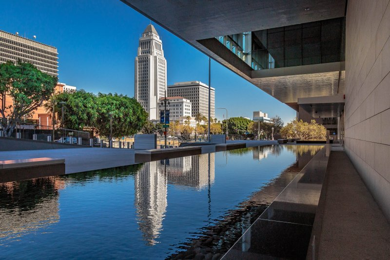 2016 Los Angeles Courthouse Fountains