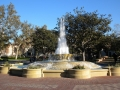 2012 USC Hahn Plaza Fountain